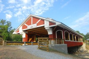 Hueston Woods Covered Bridge, completed 2010, will be on Preble Tour A.