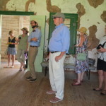 Inside Oakland plantation store, participants were treated to discussions of ongoing preservation efforts.