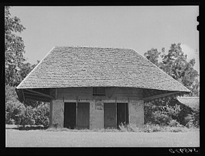 HABS image from 1940 of African House. LOC|HABS