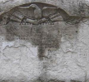 Detail of 32nd Infantry Monument at Cave Hill National Cemetery, 2008