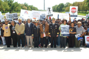 March on Washington for Mentors and No Violence NAFJ photo