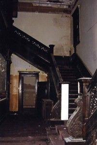 McCormick Goodhart Mansion Staircase (Before)