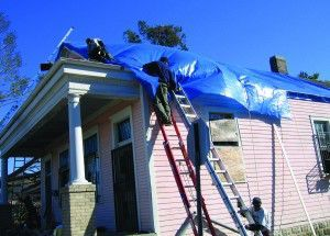 The NCPTT-supported Tarps New Orleans initiative protected dozens of historic homes ineligible for help from FEMA. The program demonstrates that high standards for methods, materials, safety and preservation can be achieved even in the face of widespread devastation.