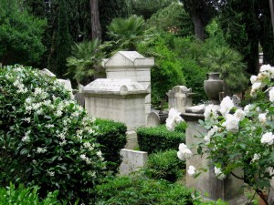 Cemetery is know for its natural beauty.