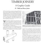 Historic American Timber Joinery, A Graphic Guide: IV. Tying Joints: Wall Brace Joints (2001-17):