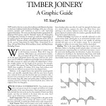Historic American Timber Joinery, A Graphic Guide: VI. Tying Joints: Scarf Joints (2001-19):