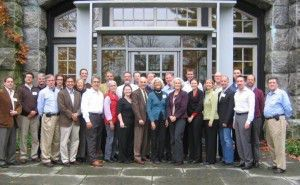Pocantico group photo - courtesy of the National Trust for Historic Preservation