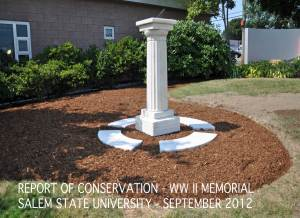Sun Dial conserved and placed for the first time.