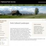 New NPS Cultural Landscapes Program Website:
