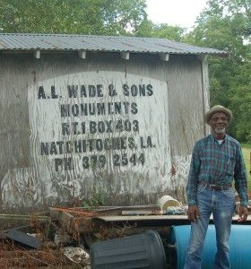 A.L. Wade and Sons Monument Company, Natchitoches, LA