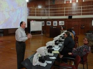 Instructor Walker Agnew of McBain Systems