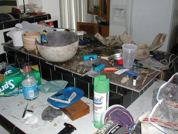 Artifacts and Meth, Image Courtesy of Archaeology Magazine and BLM