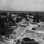 Early view of NSU Campus, Natchitoches, LA