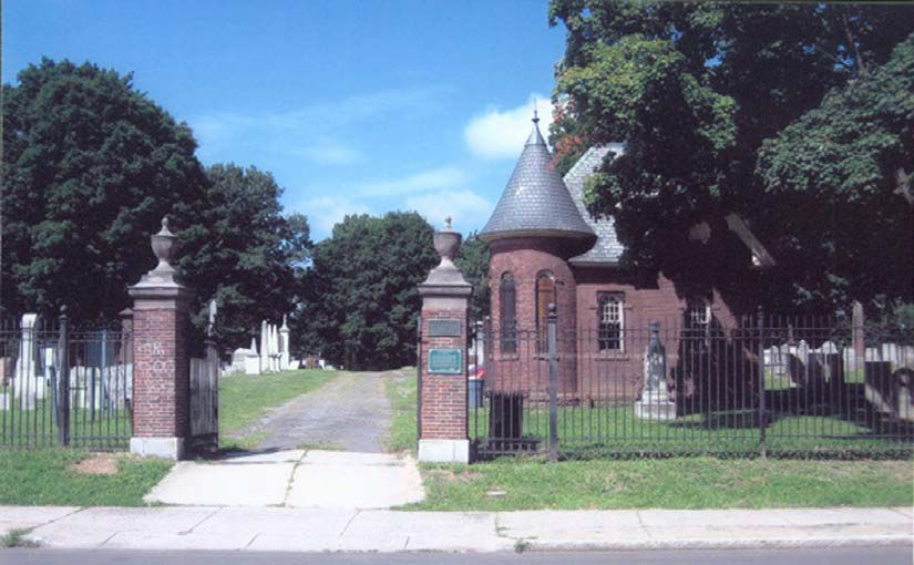 Figure 2. This view shows the current character of Old North Cemetery. While it retains a number of historic features, the overall character and use has shifted overtime. Courtesy Norma Williams.