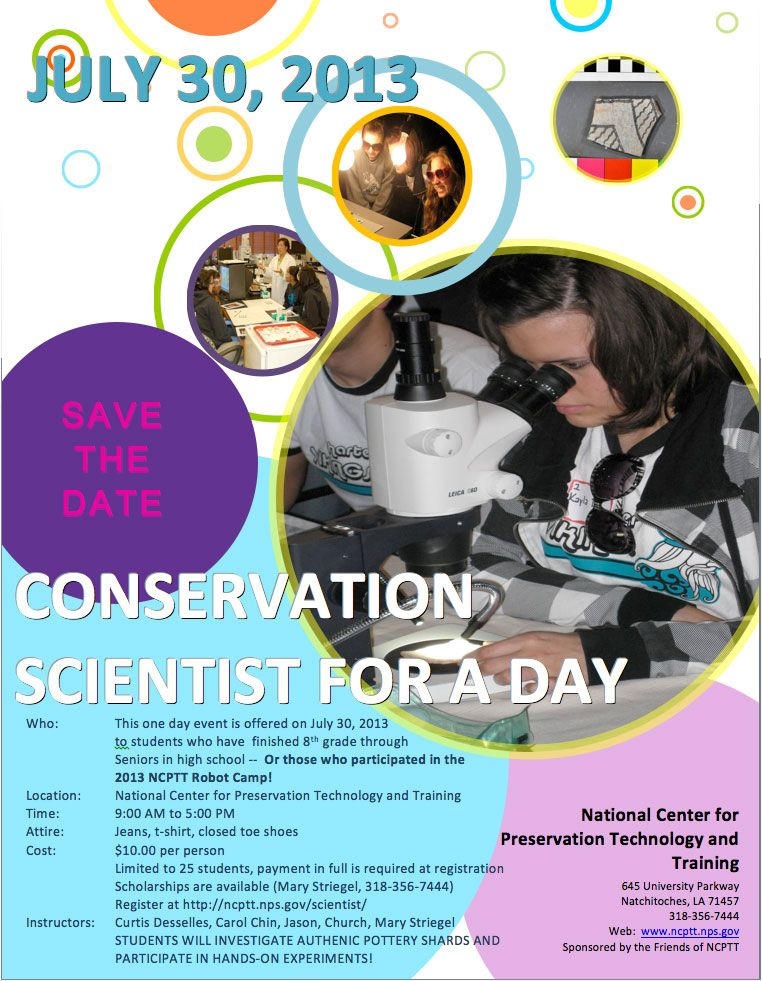 Conservation Scientist for a Day 2013