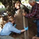 New England workshop offers hands-on training in conservation of cemetery monuments: