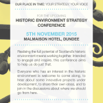 Historic Environment Strategy Conference