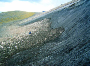 melting ice patch at Wrangell-St. Elias NP and PRES NPS photo