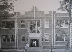 Nelson Hall in 1928