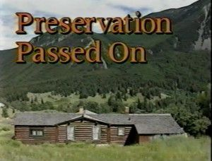 Preservation Passed On