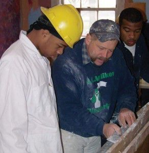 Randolph CTC students learn preservation trades in a hands-on environment