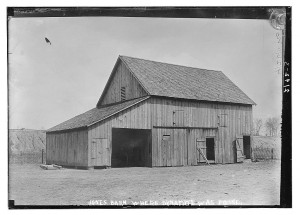 Jones Barn, Library of Congress Collection.