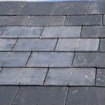 """Virtually indistinguishable solar slate roofing tiles present the question, """"are these appropriate?"""""""