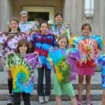 Girl Scouts participate in groovy chemistry: